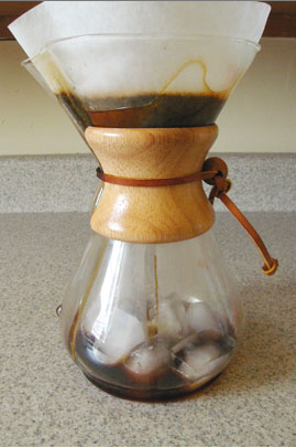 Iced Fresh Roasted Coffee