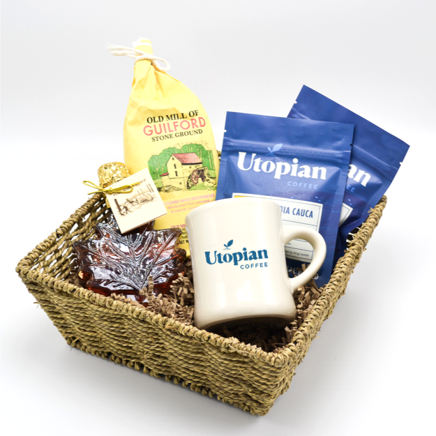 Utopian Coffee Best Breakfast Gift Basket