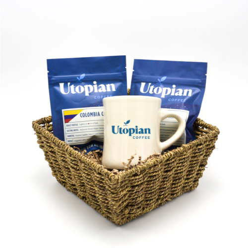 Utopian Coffee Delight Gift Basket
