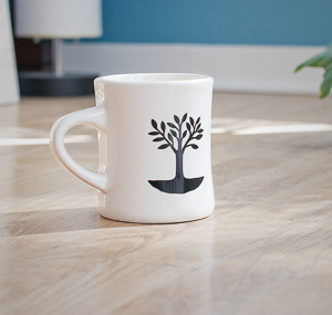 Utopian Coffee Diner Mug