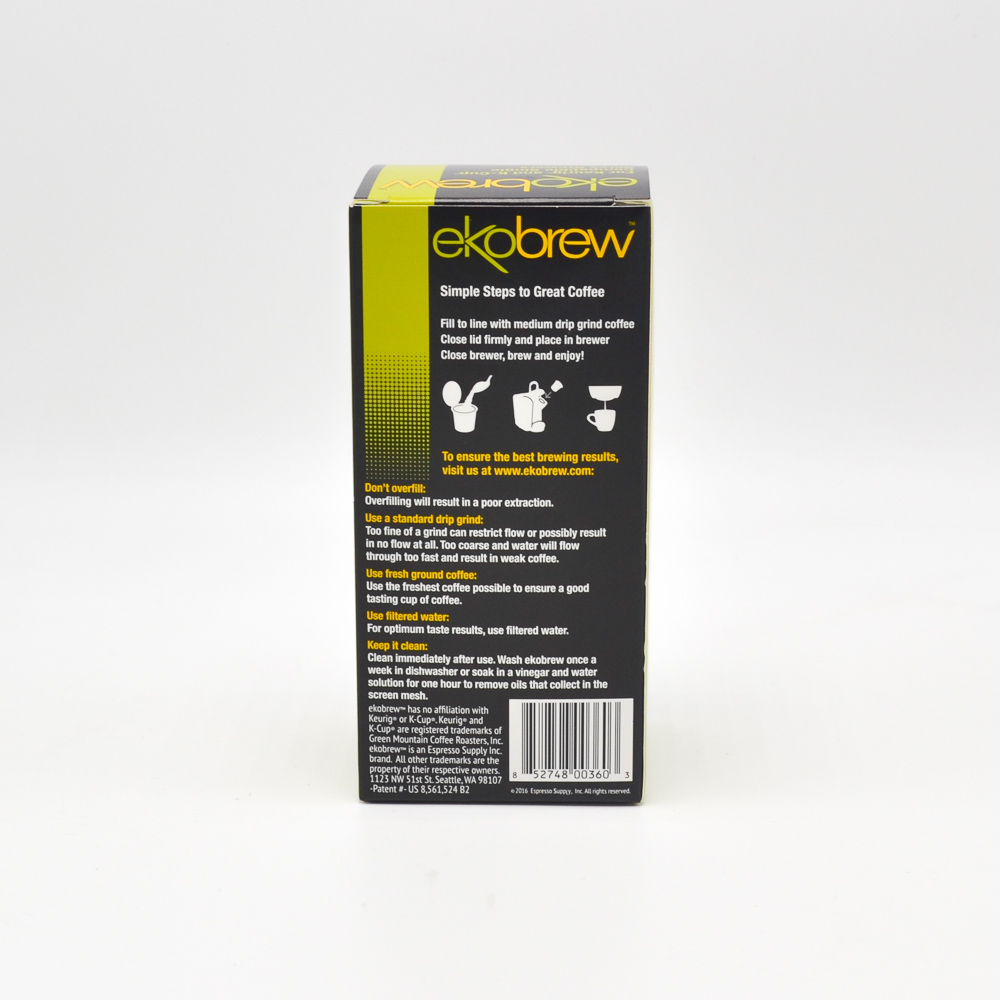 Ekobrew Reusable Pod for use with some Keurig machines